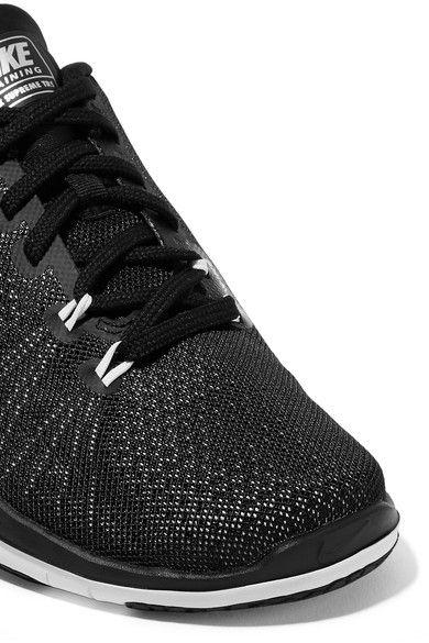 Nike - Flex Supreme Tr 5 Mesh Sneakers - Black  a49a898b8