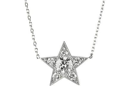All white gold star diamond pendant top with platinum chain http all white gold star diamond pendant top with platinum chain http aloadofball Image collections