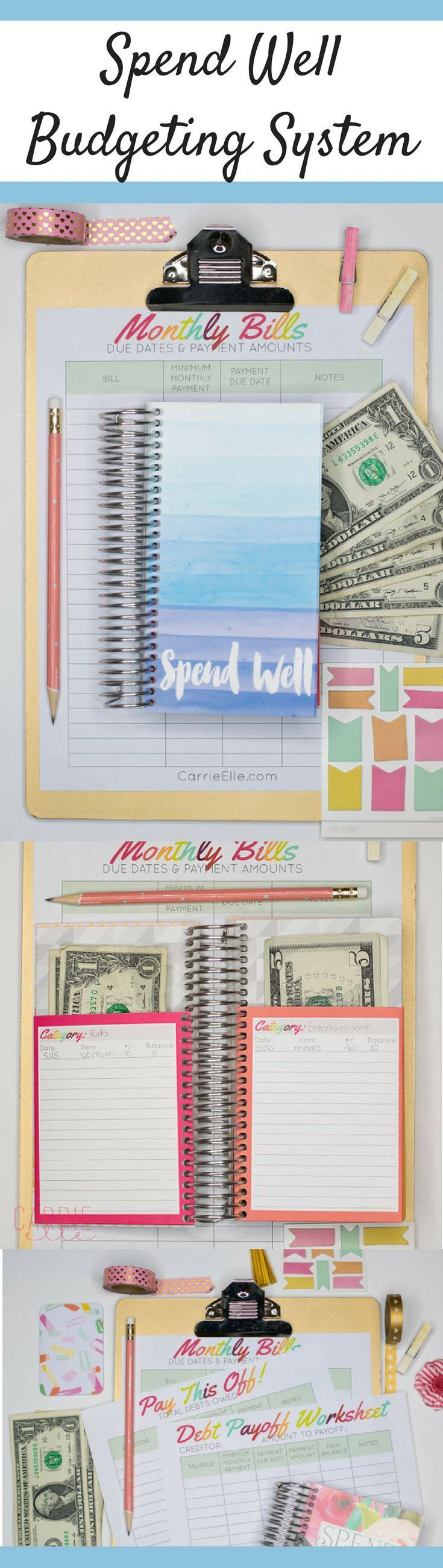 Spend Well Budgeting System | Cash Envelope System | Budgeting for ...