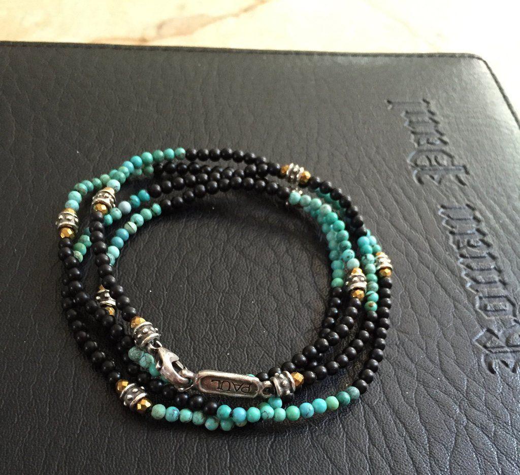 Roman Paul Roundels bracelet - Blue VptIXYg0m