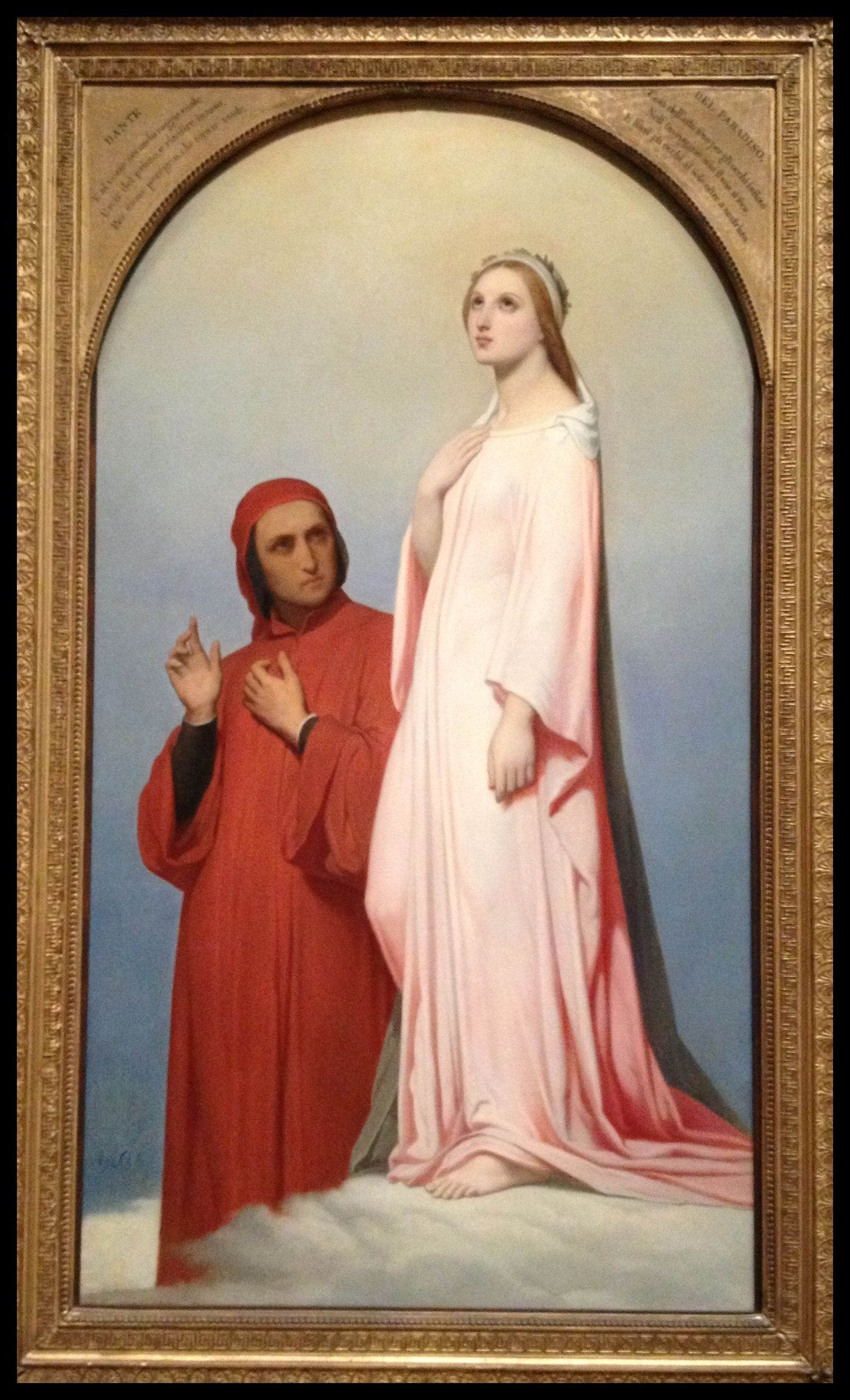 Beatrice and Dante