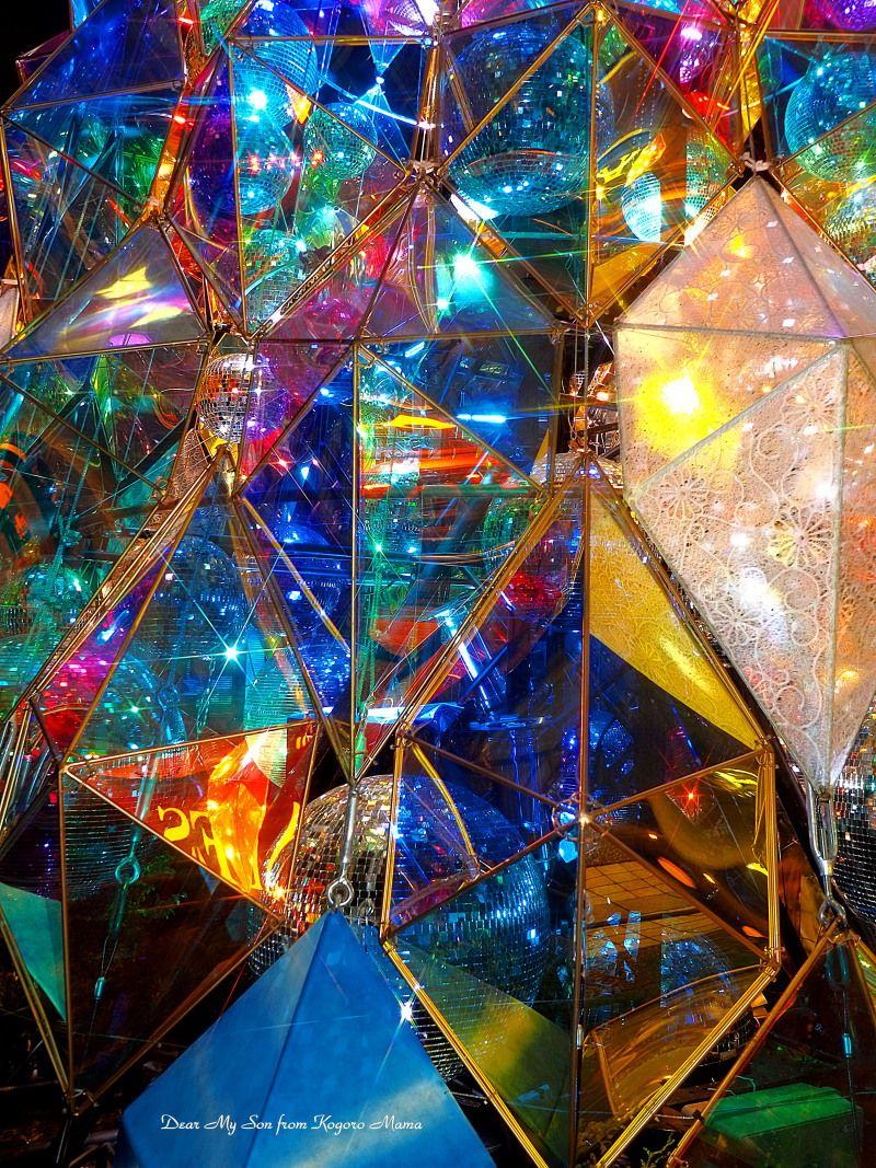 万華鏡のように アブストラクト ステンドグラスアート 蜷川 実花 壁紙