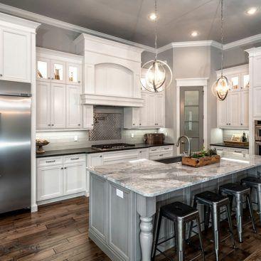 Pin de Guillermina Cappiello en Home Ideas☇ Pinterest Cocinas - Cocinas Integrales Blancas
