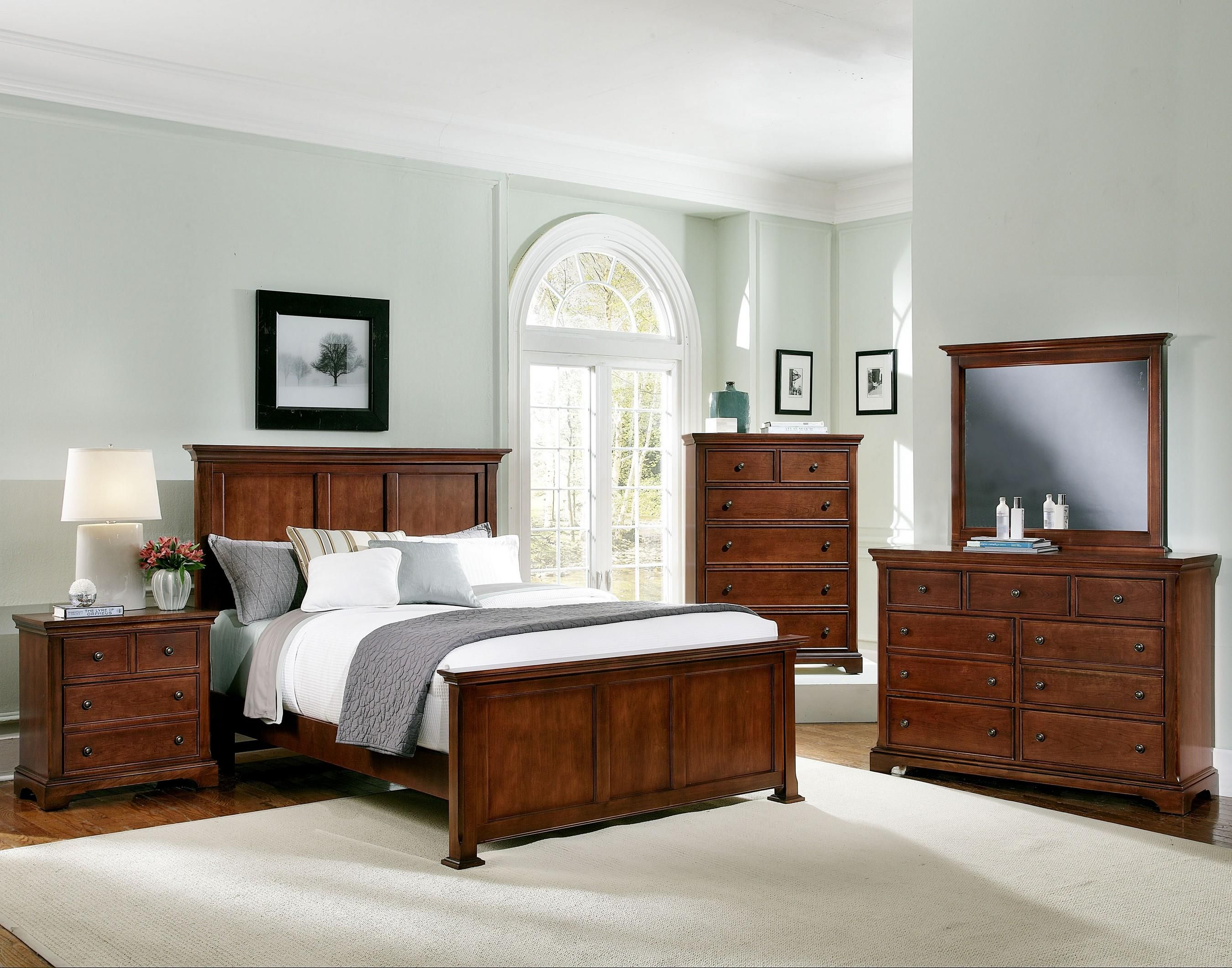 forsyth queen bedroom group by vaughan bassett at ahfa furniture i