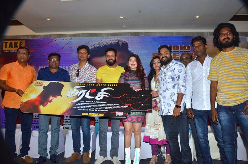 Actor Jiiva Fun Speech At Miratchi Movie Audio Launch