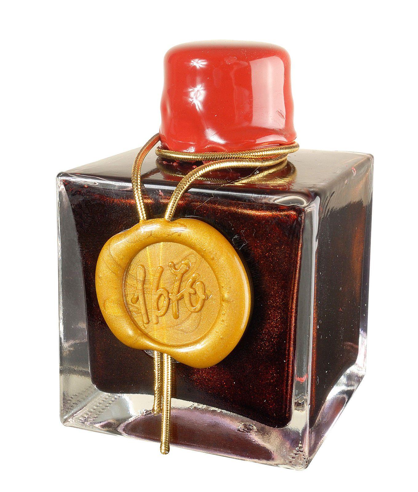 "J Herbin ""1670"" Anniversary 50 ml Bottle Fountain Pen Ink Dark Red | eBay"