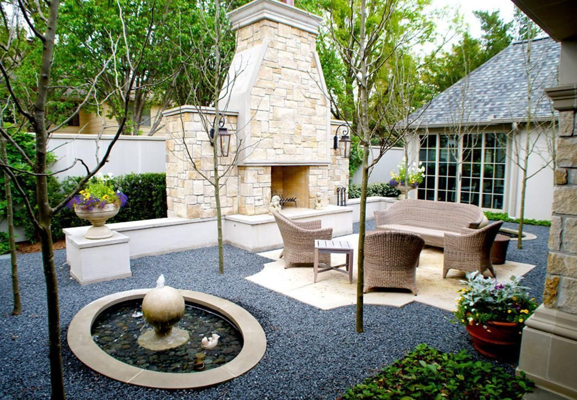 Photo of 47 Awesome French Courtyard Garden Design Ideas – Let's DIY Home