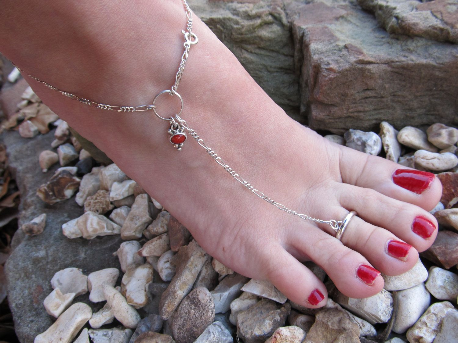 bracelet adjustable ankle blue pin anklet shade swarovski silver bracelets with crystal