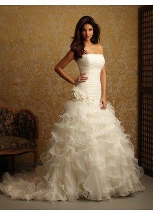 Allure Bridals 2457 | Mestads Bridal | CMWA Wedding Dresses | Pinterest