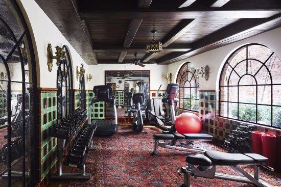 Fitness Center In 2020 Bowery Hotel Greenwich Hotel Hotel Gym