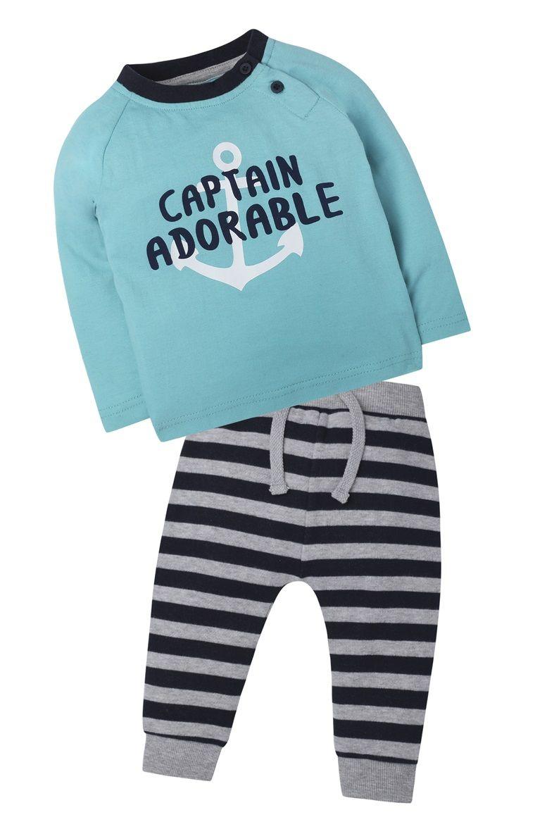 Primark - Set pantalón a rayas «Captain Adorable»