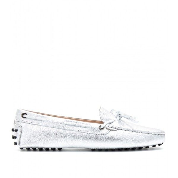 Tod's Heaven New Lacetto Loafers ($445) ❤ liked on Polyvore