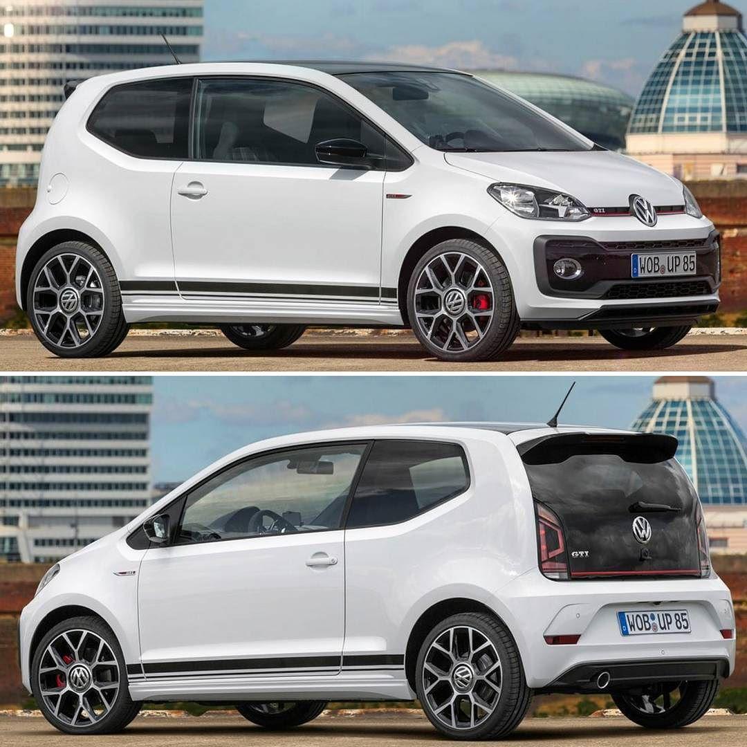 Volkswagen Up Gti Concept 2017 Modelo Ganha Uma Versão Esportiva Na Europa Que Chega Ao Mercado No Começo De 2018 Assim Como O Volkswagen Up Vw Up Volkswagen