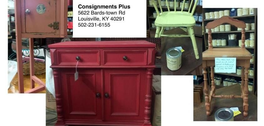 Consignment Plus In Louisville Has Been Busy Painting, Distressing And  Antiquing Furniture For Her Shop