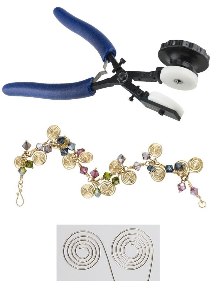 Para espirales de alambre perfectas en todo momento: los alicates formadores de espiral Swanstrom