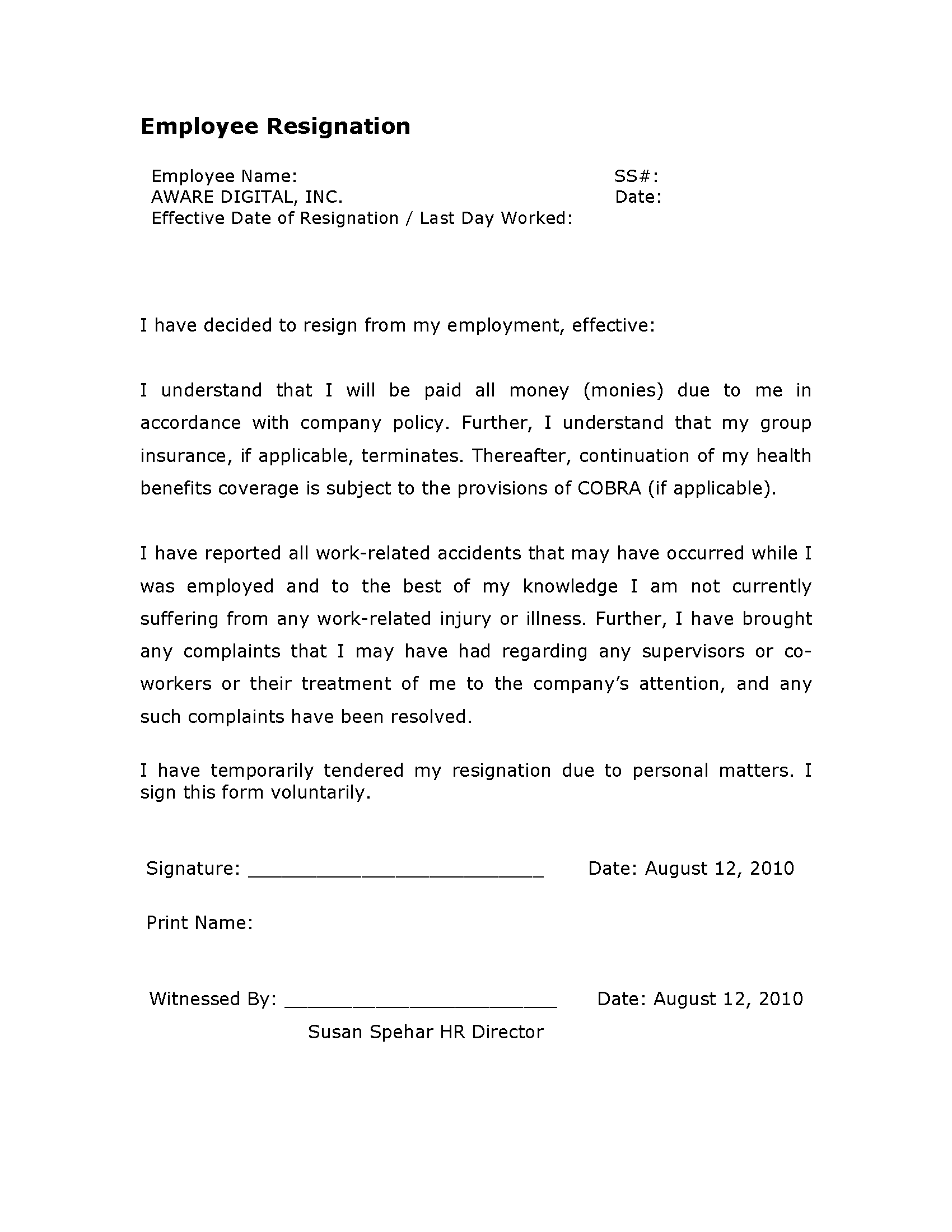 Formal Letters For Leave Application. Sample Formal Excuse Letters For  Missing Work, Plus Tips