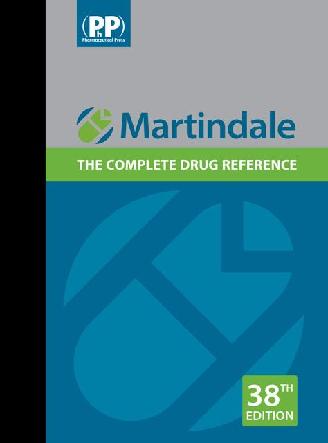 Free download]~ martindale the complete drug reference.
