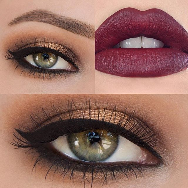 Image Result For Burgundy Lipstick On Fair Skin Blue Eyes Fair