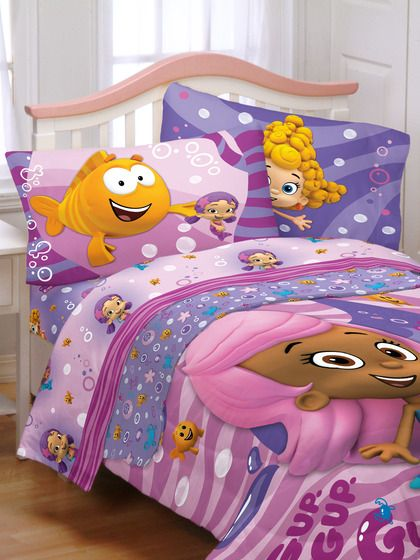 Mia Baby Bedroom Furniture: Bubble Guppies Twin Sheet Set By Franco Mfg On Gilt.com