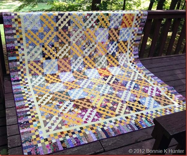 Bonnie Hunter's Floribunda (With images) | Quilts, Purple quilts ...