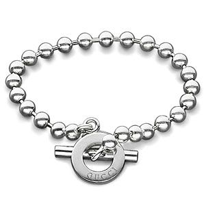 b716512cb4fdbe Gucci Boule Sterling Silver One Row Bracelet. I won't lose this one. I  promise.