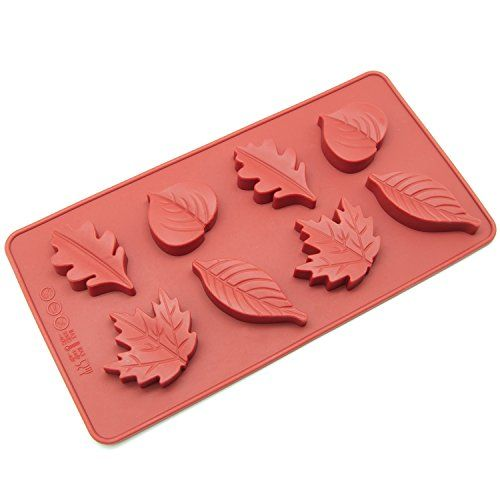 New Arrival DIY Tree leaf Press Molding Foil Mold Silicone ...  Plane Tree Leaf Silicone Molds