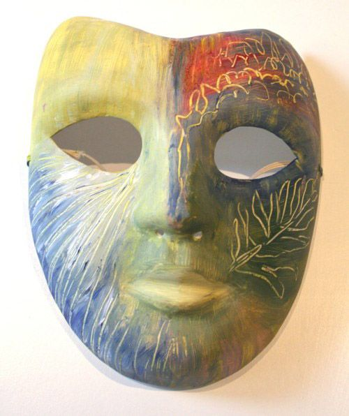 Creating Healing » Transpersonal Art Therapy mask