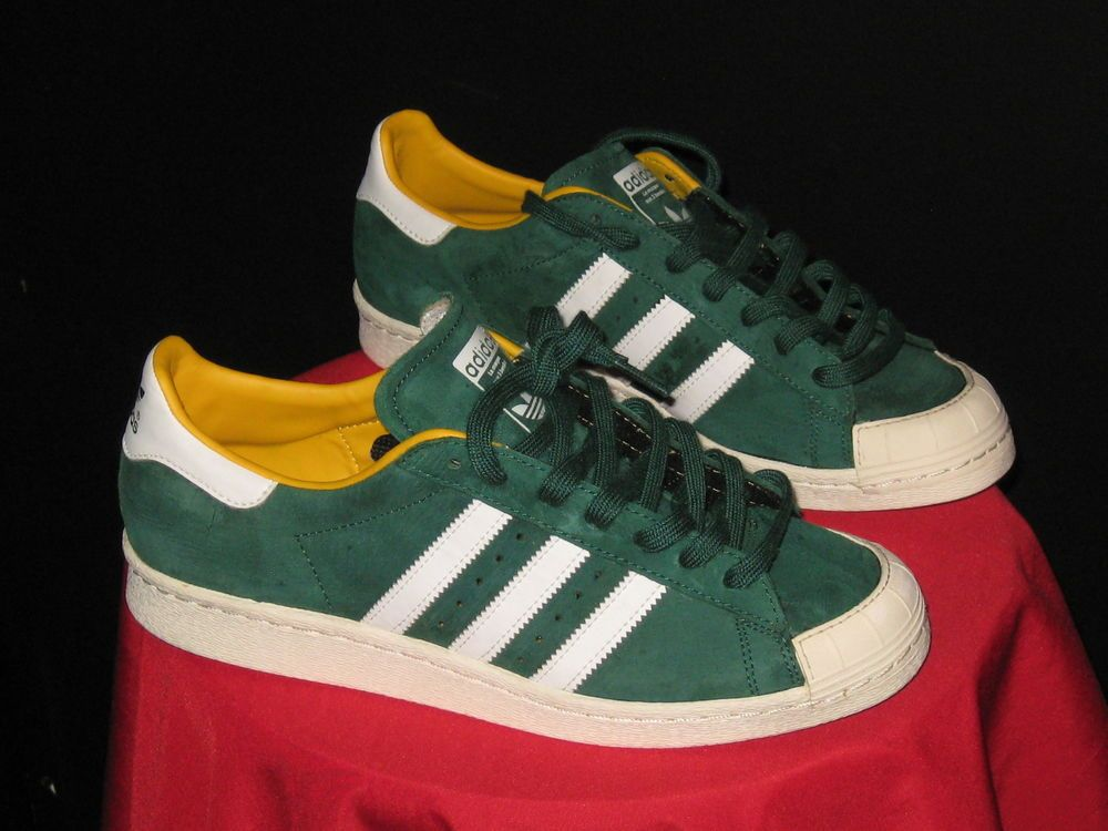 Zapatillas hombre SuperStar verde para hombre Adidas talla 9 RwrqU0RPx