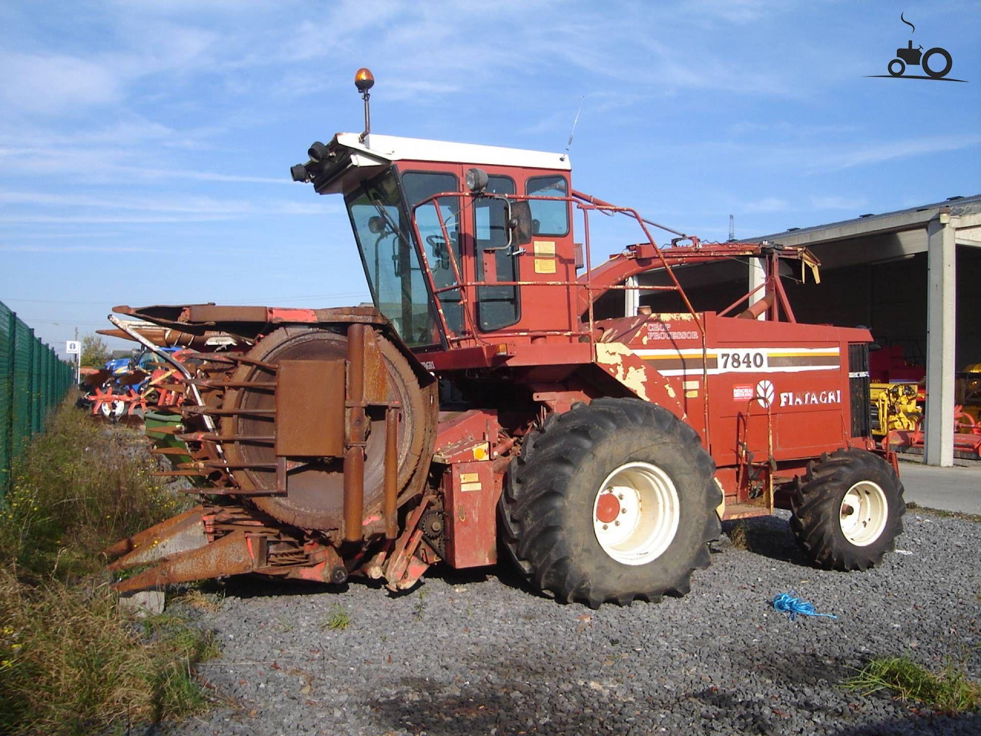 Fiat 7840, foto van Fiatagri T7050 Fiat, Old Tractors, Vintage Tractors