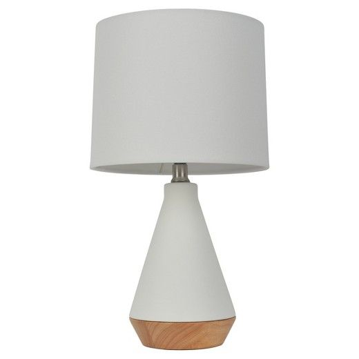 Modern Tapered Ceramic Table Lamp White Includes Energy Efficient Light Bulb Project 62 With Images Ceramic Table Lamps White Table Lamp Lamp