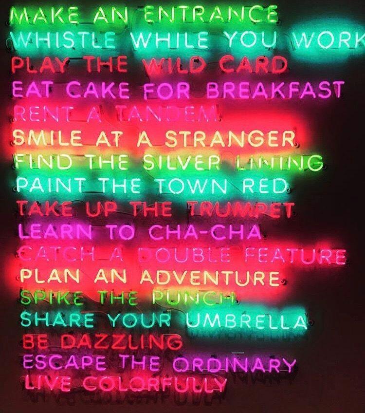 Idea by Megha on neon lights   Neon signs, Rainbow ...