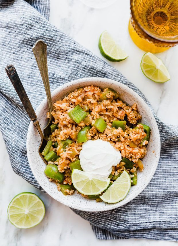 This Reverse Stuffed Peppers and Brown Rice Bowl will become your new goto meal Its super healthy easy to make and doesnt require any special ingredients