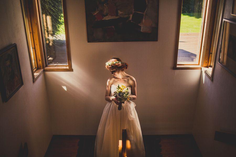 Bride Portrait Norway Selfish Plug Yes Dear Studio