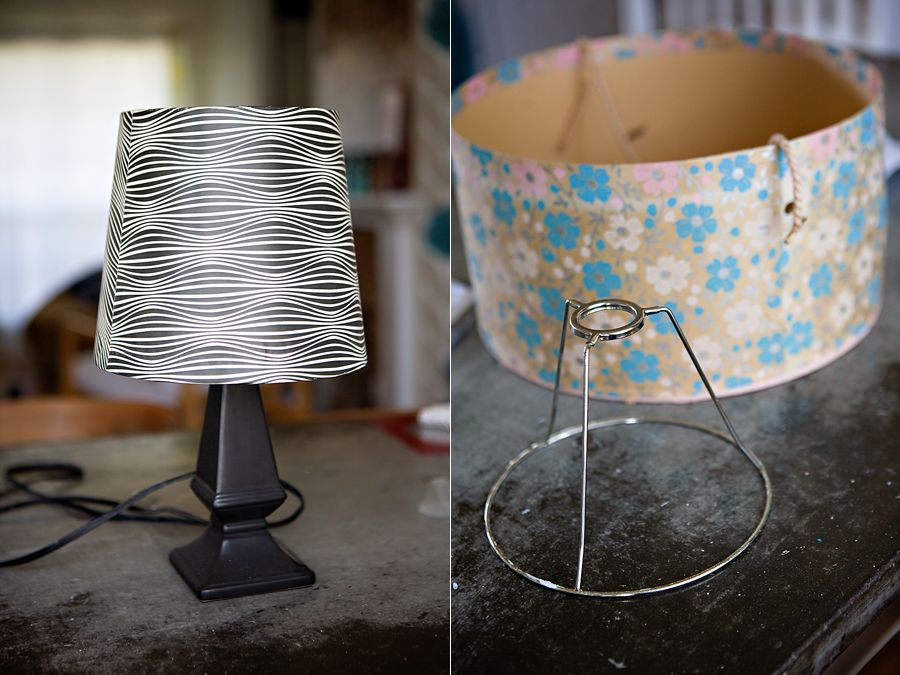 Diy Vintage Hat Box Lampshade Diy Vintage Vintage Hat Boxes Flea Market Crafts