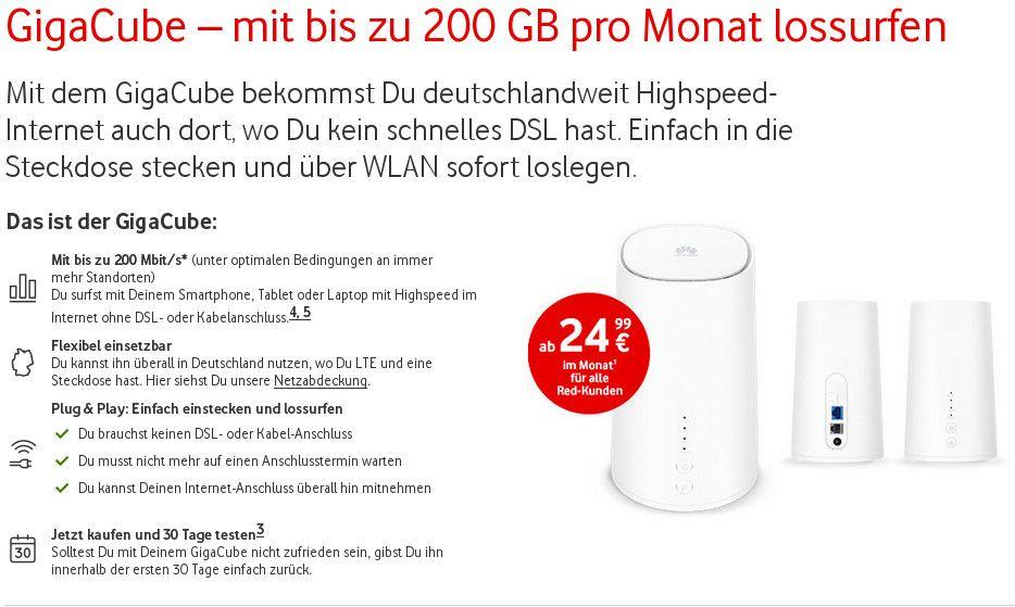 Vodafone Würfel