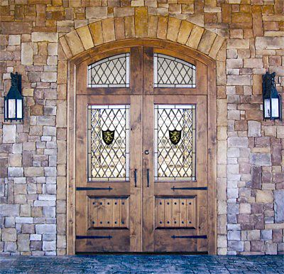 Custom French Country Rustic Doors Solid Wood Entry Doors By Decora Rustic Doors French Country Doors Exterior Wood Entry Doors