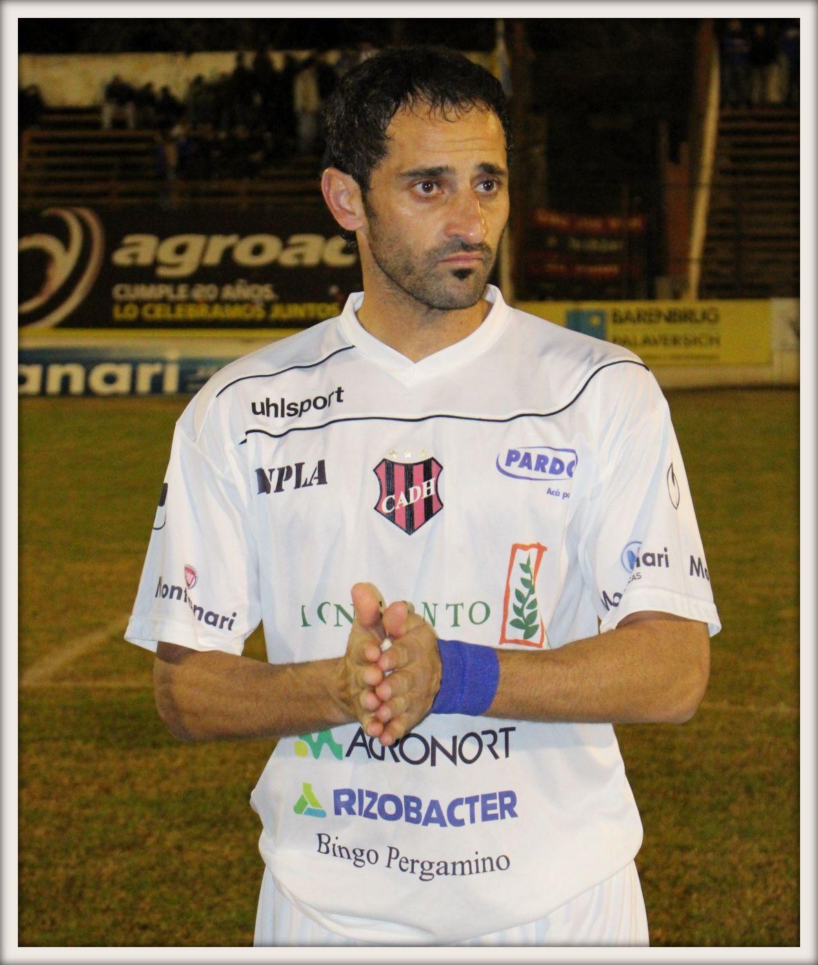 Diego Levato frente a Patronato el 13 de julio del 2015