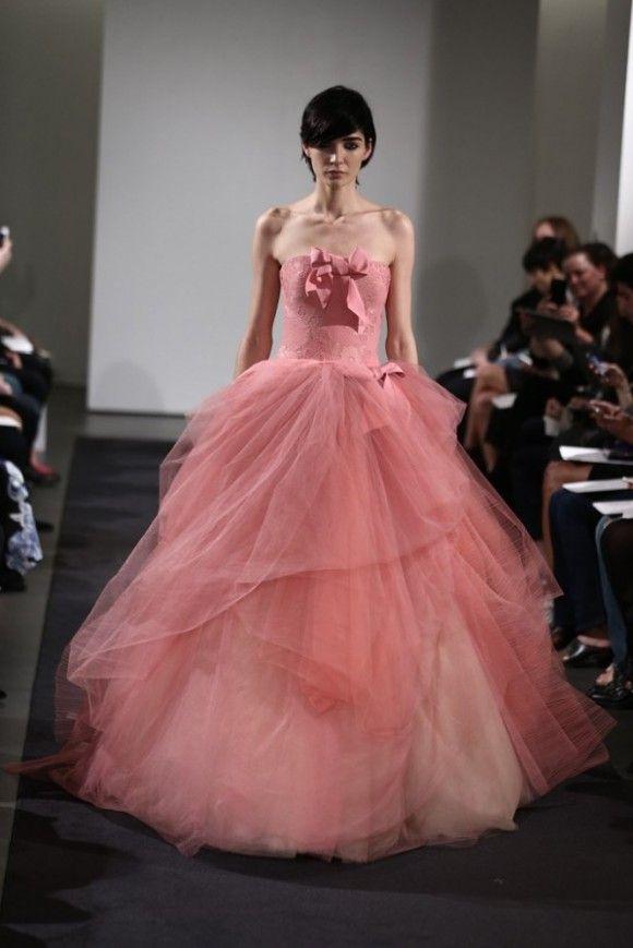 vera wang 2014 l   Glam   Pinterest   Vestidos de noche, Matrimonio ...