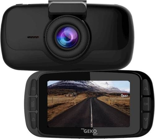 Capture footage from your trips with this myGEKOgear Orbit 960 UHD 4K dash cam. The ultrahigh resolution and 30 fps speed deliver clear videos, while the 2.7-inch LCD screen offers enhanced visibility. This Wi-Fi-enabled myGEKOgear Orbit 960 UHD 4K dash cam records with a wide 140-degree wide-angle lens for sweeping coverage, and the included 16GB microSD card provides ample storage.
