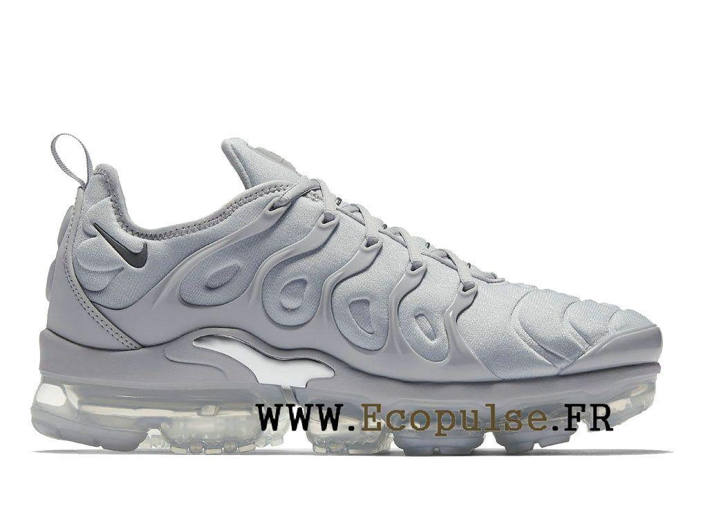 8c3471552b0 Nike-Air-VaporMax-Plus 2018 Chaussures Bleached Aqua TN Pas Cher Homme Gris  .