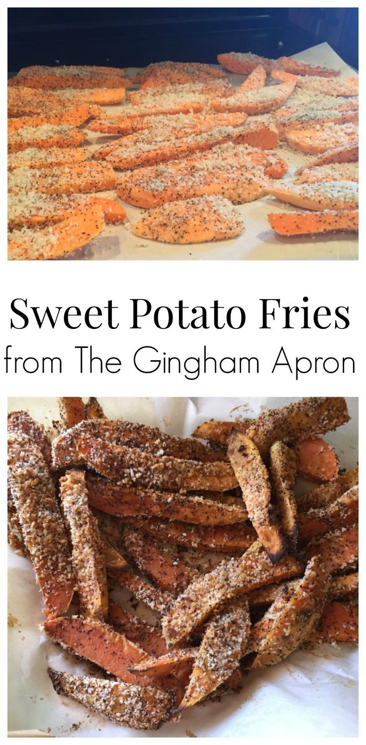 Sweet Potato fries- healthy and delicious!