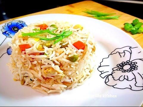 How to make vegetable egg fried rice chinese restaurant style by how to make vegetable egg fried rice chinese restaurant style by huma in ccuart Images