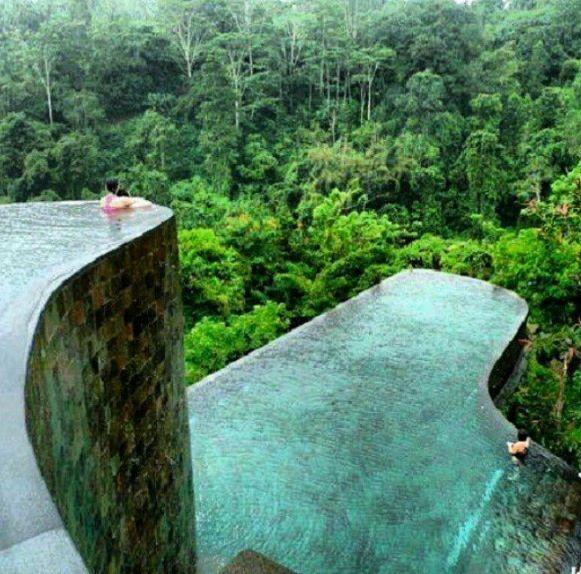 Ubud hanging gardens indonesia travel pinterest for Hanging garden pool ubud