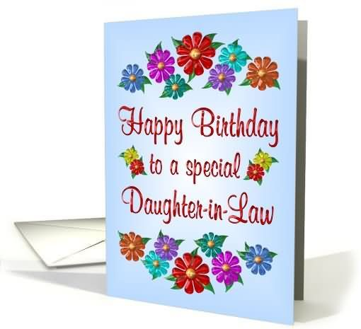 happy birthday daughter in law birthday wishes for daughter in – Happy Birthday Daughter in Law Cards