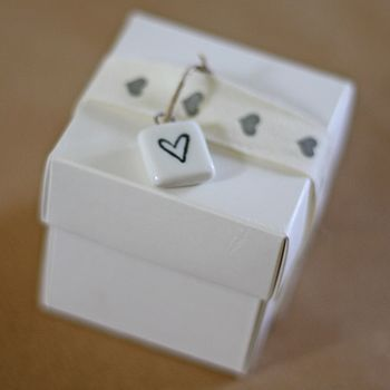 Ceramic heart gift tag                                                                                                                                                                                 More