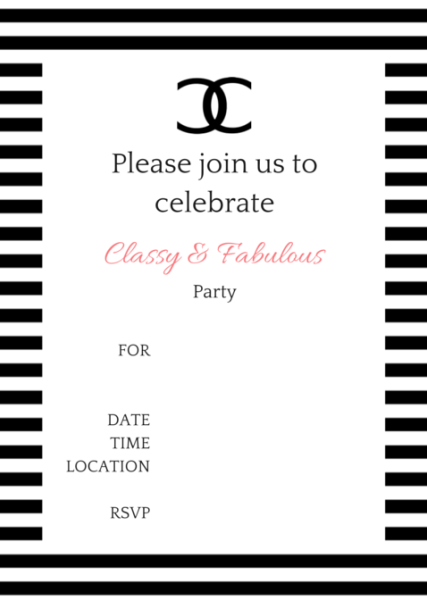 Coco Chanel Party Ideas Birthday Ideas Chanel Party Chanel