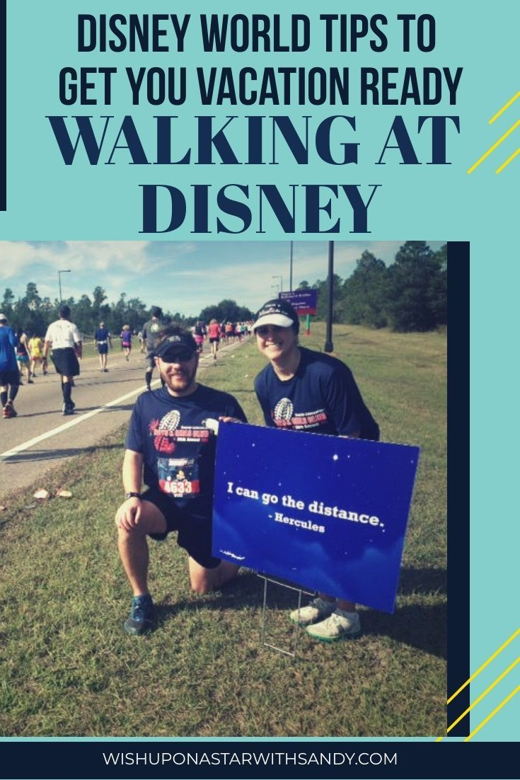 Disney World Tips to Get you Vacation Ready... Walking ...