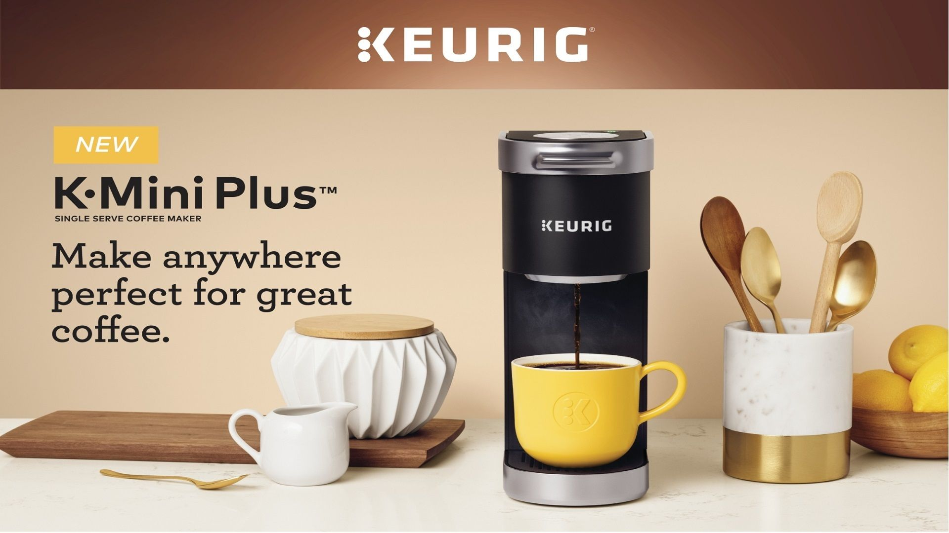 Keurig® KMini Plus™ Single Serve Coffee Maker in 2020