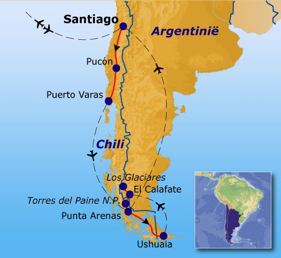 Rondreis Patagonie 25dgn : Uitgestrekte pampa's en imposante gletsjers  - Sawadee Reizen