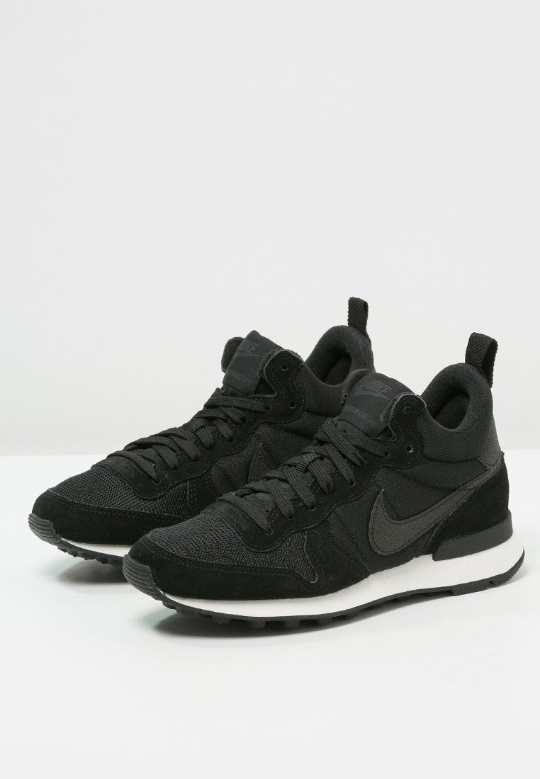 separation shoes b8508 21f35 Nike Sportswear INTERNATIONALIST MID - Baskets montantes - black anthracite  sail - ZALANDO.